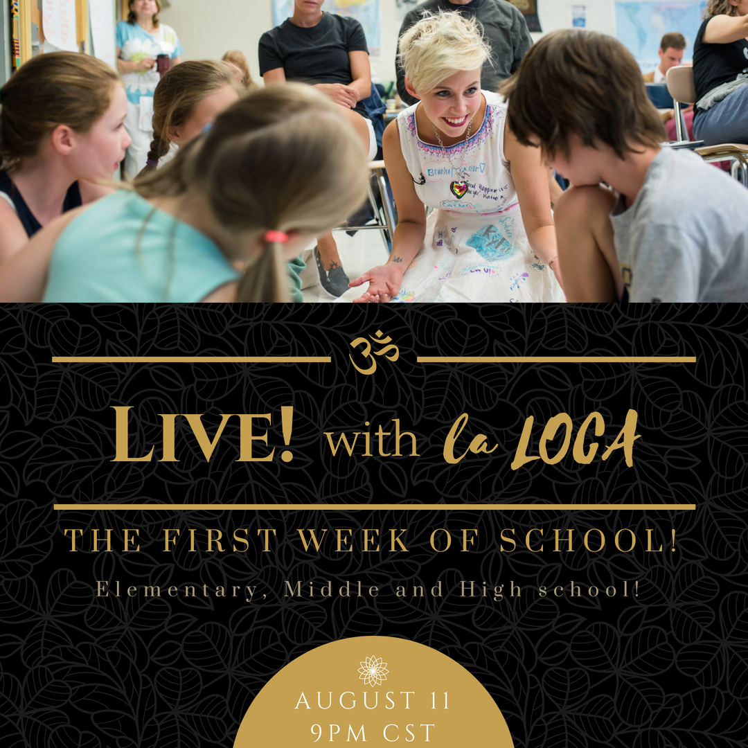 LIVE! with la LOCA! #2: The First Week of School